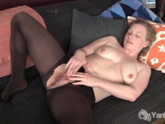 Busty Amateur Lili Fingerblasting Her Pussy