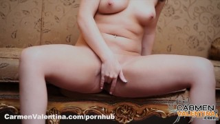 Carmen Valentina Pink Pussy and Pink Corset Desi intimate