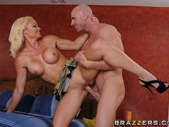 Naughty Milf loves young cock - Brazzers