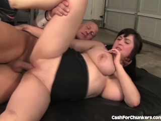 Cute Chubby Girl Gets Fucked Hard