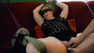 Screaming orgasm wife bound black wife