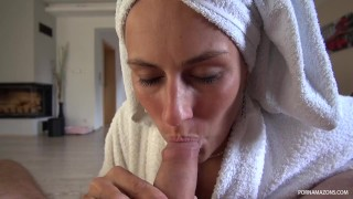 Mea Melone Homemade Blowjob