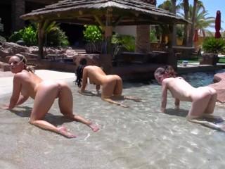 Naked Pornstar Yoga with Alexis Monroe