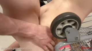 Gets shopping brutal on anal a atm sex and whore ass cart painal brunette bondage