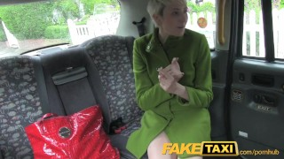 FakeTaxi Lady gets two bum deals in one day Small tits