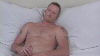 Naughty Straight Guy Hef Masturbating Ass gay