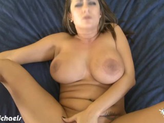 Big titted Trina Michaels fuck cock in POV
