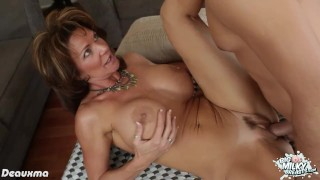 Preview 2 of Chesty milf Deauxma riding a big dick