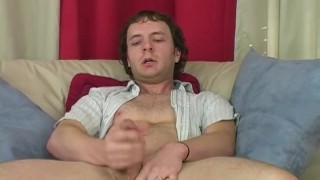 Horny Straight Guy Johnny Masturbating Chub amateur