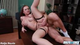 Horny milf Katja Kassin gets ass fucked