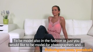 Will brunette hot a fashion do be anything model fakeagent to cumshot of