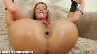 EvilAngel Sheena Shaw's Anal Insertion and Rim job