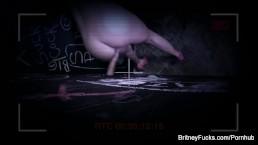 Britney Amber Glory Hole Blowjob