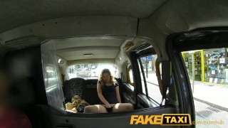 Teen faketaxi young horny on cock takes old teen spycam