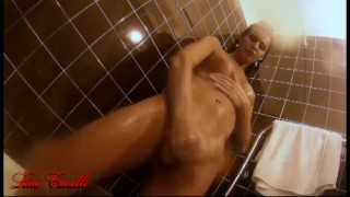 Cavalli shower lina takes solo up