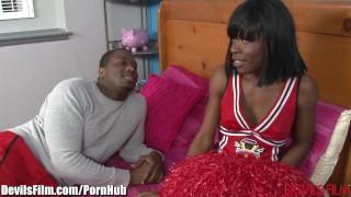 DevilsFilm Ebony Cheerleader Fuck Fest porno