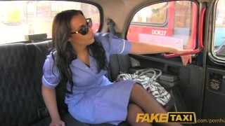 Faketaxi driver british nurse taxi her in uniform fucks homemade blowjob