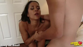 Preview 3 of Latina Abby Lee Brazil riding cock