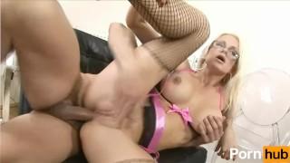Busty Milf takes big dick