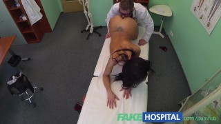 FakeHospital Lucky patient receives sexual healing treatment Natural big