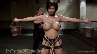 Slave MILF With Huge Tits Pussy cute