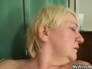 He finds mother in law fucks her...