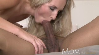 Hottie it hard mature blonde likes rough slender mom and milf mom
