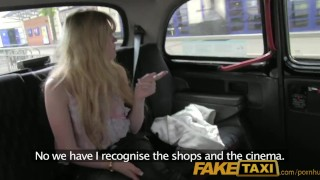FakeTaxi Hairy minge surprise for randy taxi driver