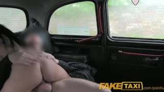 Randy gets taxi big babe boobed by gropped driver tits faketaxi her camcorder cumshot