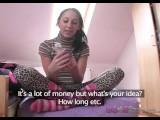 Love Creampie Teen student in knee high socks fucks TV repair guy for cash