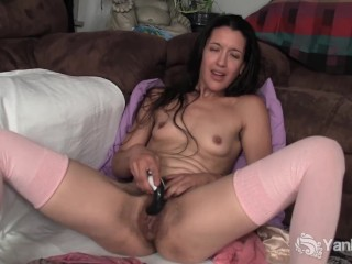 Small Breasted Amateur Eva Toying Her Pussy