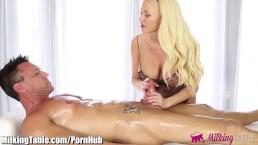 MilkingTable MEMBER FANTASY Summer Brielle helps sex deprived client