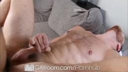 HD - GayRoom Cute guy get fucked by a straight hottie
