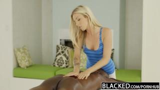 Loves blacked massaging blonde bbc beautiful kush karla oiled black