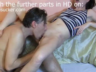 Real Skinny Cute Wife Live TV Show Part1/6 Bj Queen Sylvia*Sucker*Chrystall