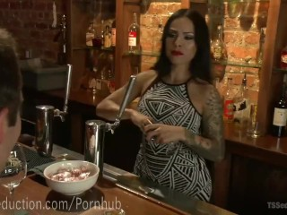 Patron's Ass Pounded By Bartender