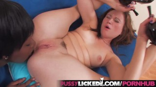 PussyLicked Mixed Race Lesbo Teens Eat Pussy