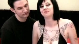 Fuck couple their makes first film amateur busty brunette