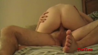 SHe takes a load on her back, Amateur