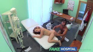 Short russian sexy money fakehospital patient no pays but has doggy pussy