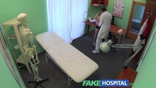 FakeHospital Sexy short Russian patient has no money but pays