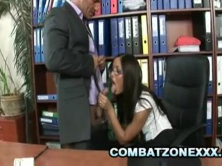 Angelica Heart - Big Tits Secretary Having Sex With The Boss