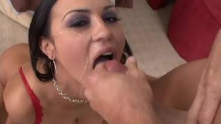 Deep Throat Gagging Chocking Cock Sucker!