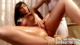 Cleopatra mighty the foot fingering