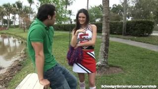 Gets wet creampie horny schoolgirl one accidental schoolgirl