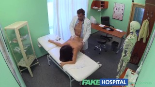 Naughty nurse pleasure fakehospital pussy doctor patients both dirty and amateur reality