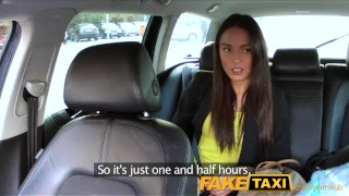 FakeTaxi Taxi driver fucks party girl on backseat