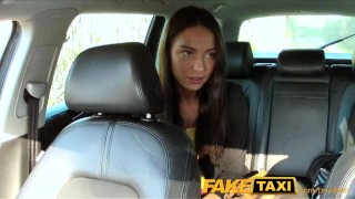 FakeTaxi Taxi driver fucks party girl on backseat Compilation boobs