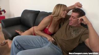 Horny MILF Babe Loves Younger Men