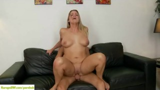 Curvy Cougar Bethany Taylor Bounces On Cock porno